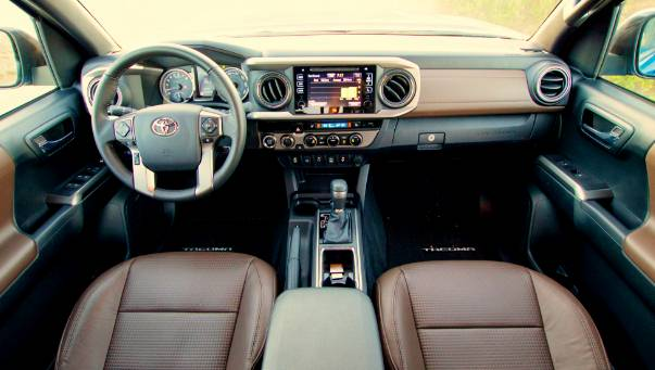 2017 Toyota Tacoma Manual Transmission Review Toyota