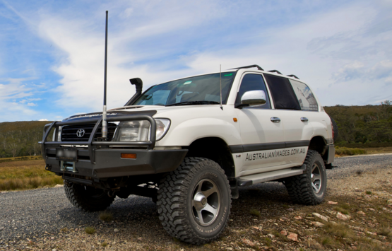 History of Toyota Land Cruiser in Australia