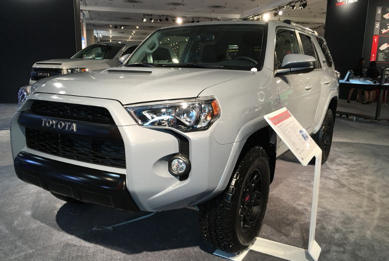 2017 Toyota 4Runner TRD Pro Cement