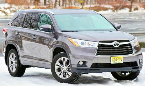 2018 Toyota Highlander Hybrid Redesign Canada