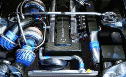 2018 Toyota Supra Engine 2JZ GTE