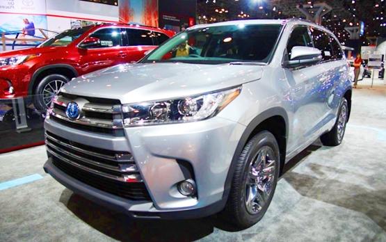 2018 Toyota Highlander Specs United States