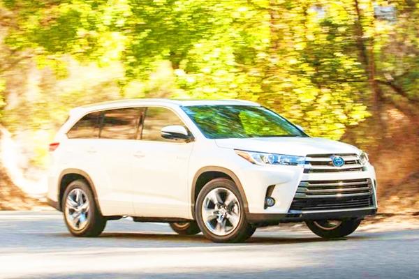 2019 Toyota Highlander Hybrid MPG