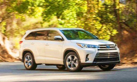 2019 Toyota Highlander Hybrid Changes Redesign