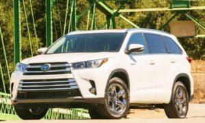 2019 Toyota Highlander Hybrid Redesign and Price
