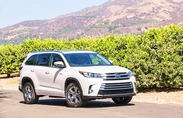 2019 Toyota Highlander SUV Hybrid Limited V6 Review | Toyota Cars Models