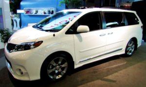 2019 Toyota Sienna Hybrid Concept