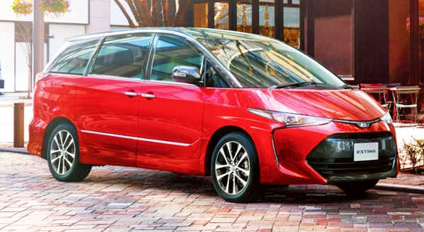 2019 Toyota Tarago Redesign