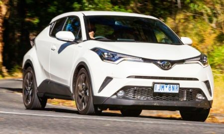 2019 Toyota CHR AWD Redesign