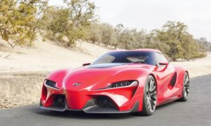 2019 Toyota Supra Concept Canada