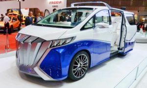 2020 Toyota Alphard Redesign Concept