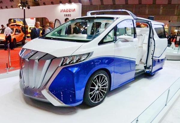 2020 Toyota Alphard Redesign Concept