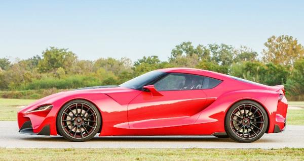 2020 Toyota Supra Speeding