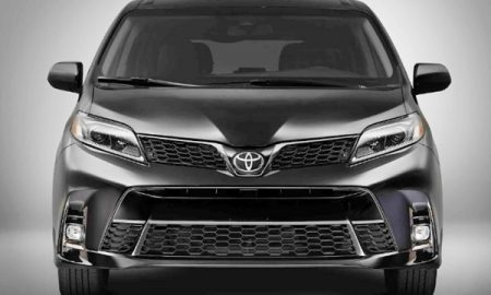 2019 Toyota Sienna Hybrid Van Redesign Canada