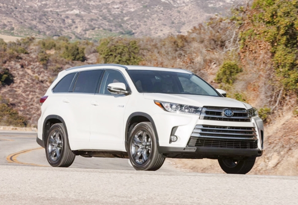 2019 Toyota Highlander Hybrid Limited UK