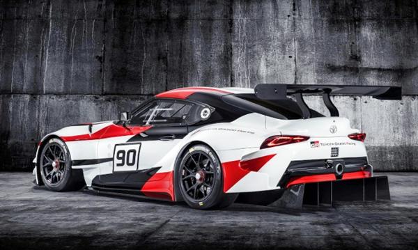 2019 Toyota Supra Nascar Driver