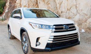 2019 Toyota Highlander Hybrid MPG Redesign