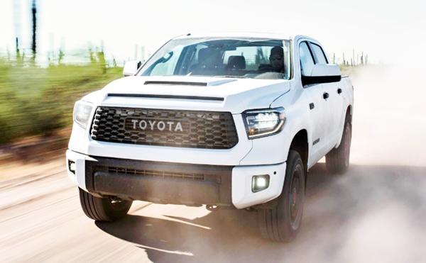 2019 Toyota Tacoma TRD Pro Sunroof Rack
