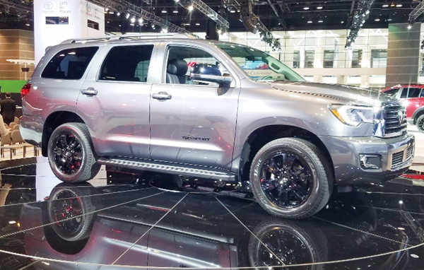 2019 Toyota Sequoia TRD Sport 4WD Review