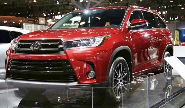 2020 Toyota Highlander Concept Canada