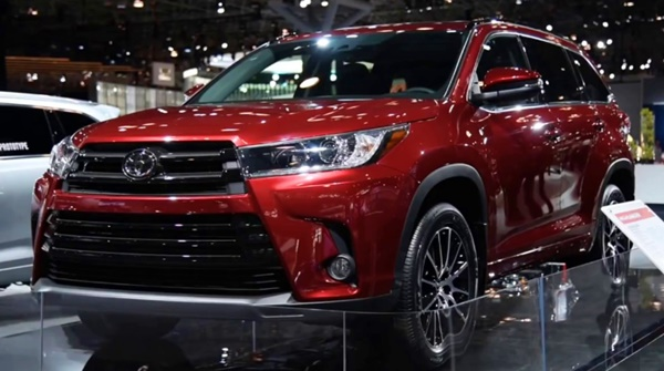 2021 Toyota Highlander Cars Models
