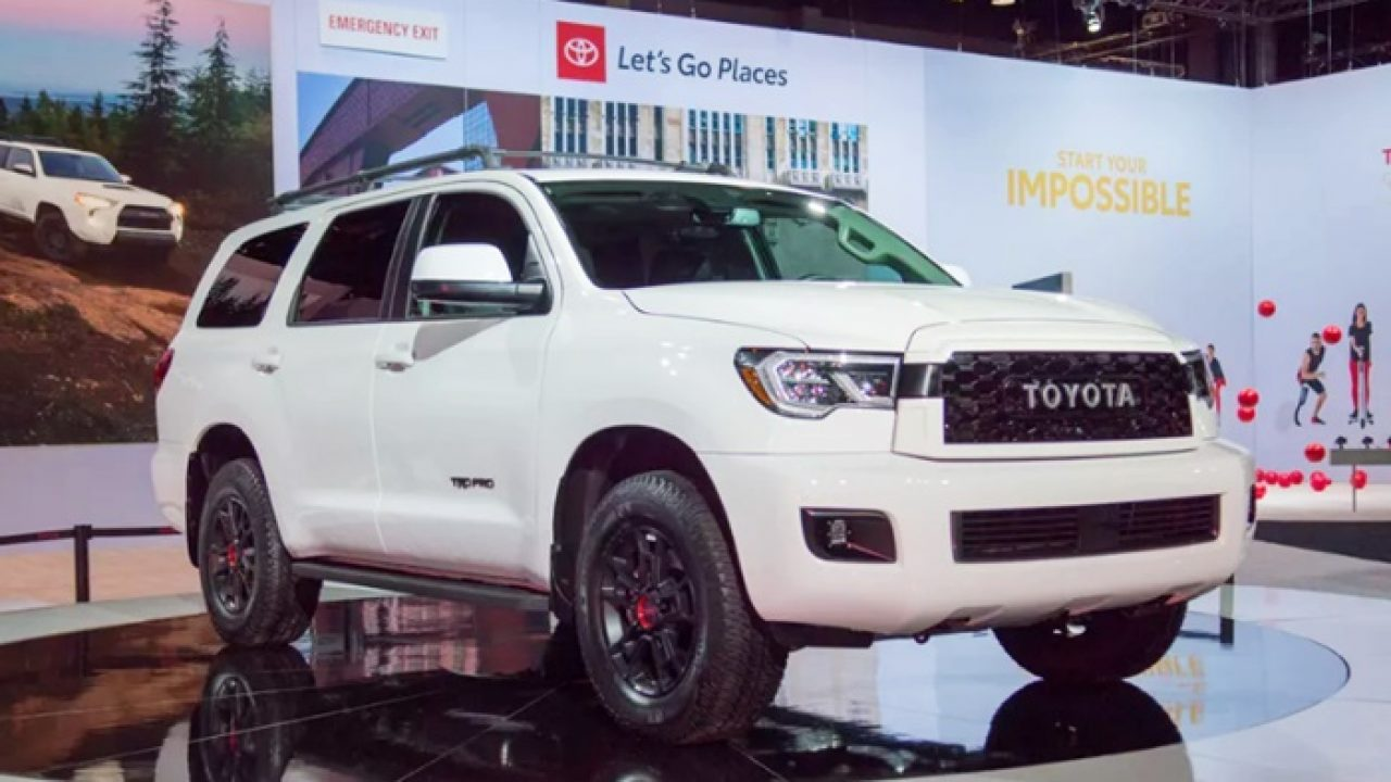 2021 Toyota Sequoia Redesign and Review