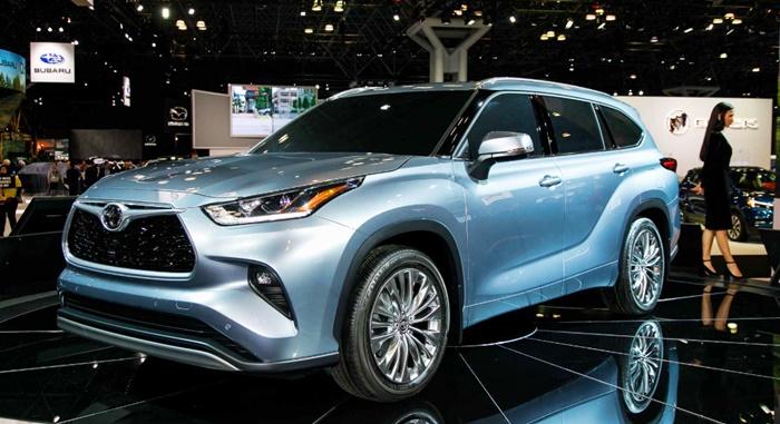 2020 Toyota Highlander Hybrid Limited Platinum