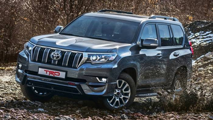 Land Cruiser Prado Full Option (Diesel) 2020 - Deals4Wheels | 396x700