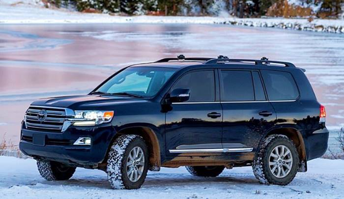 2022 Toyota Land Cruiser Redesign
