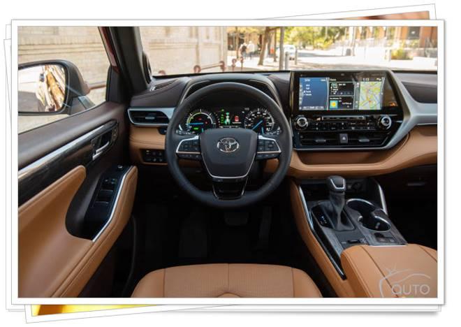2022 Toyota Highlander Hybrid Price Canada
