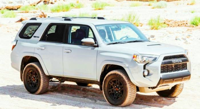 2022 Toyota 4Runner Hybrid Capacity Canada