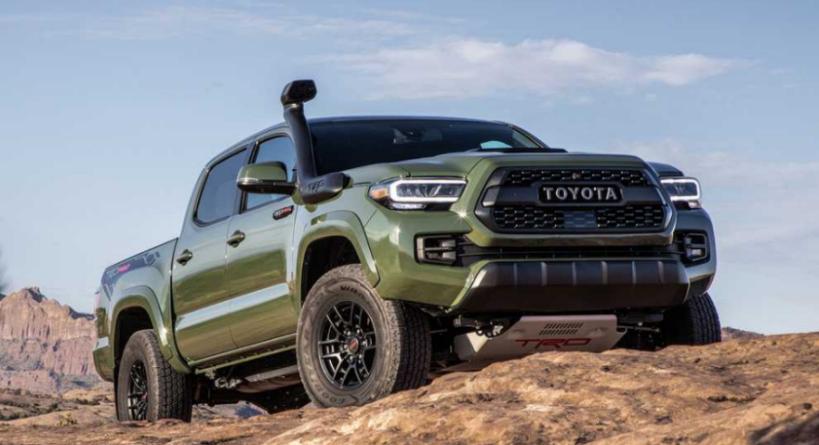 2024 Toyota Tacoma Hybrid Redesign