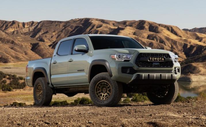 2024 Toyota Tacoma Redesign United Kingdom