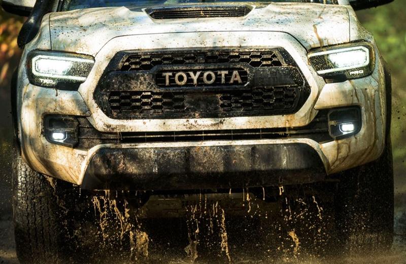 2024 Toyota Tacoma Hybrid United Kingdom